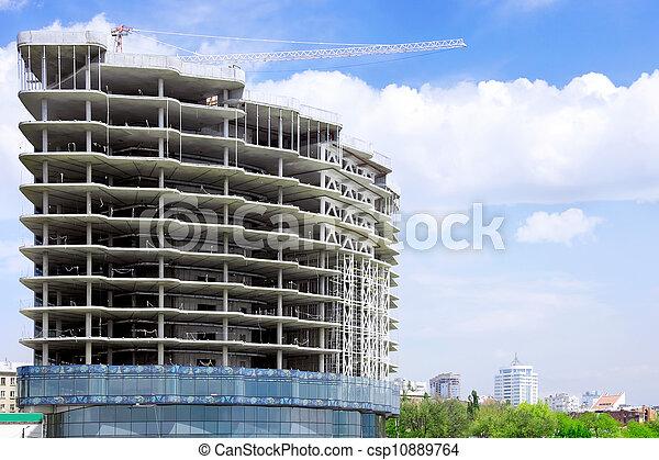 Building under construction - csp10889764