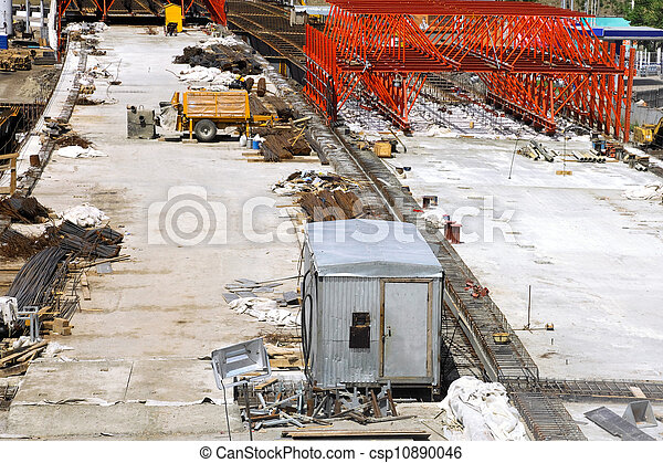 Building under construction - csp10890046