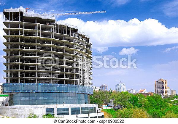 Building under construction - csp10900522