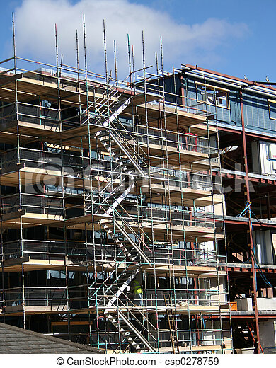 Building under construction - csp0278759