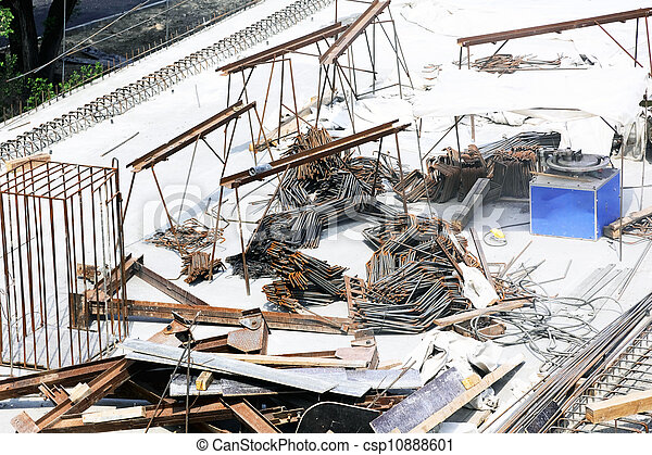 Building under construction - csp10888601