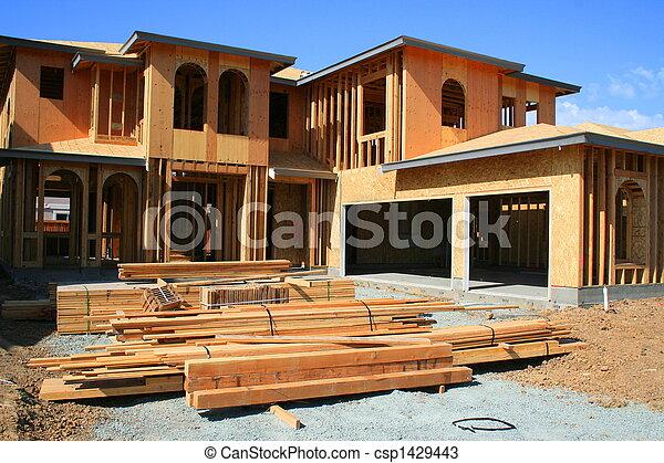 Building Under Construction - csp1429443