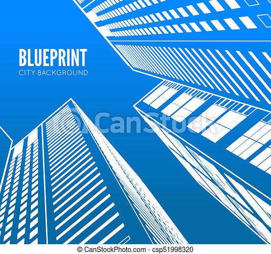 Building wireframe 3d render city blueprint illustration clip art 3d render city csp51998320 malvernweather Choice Image