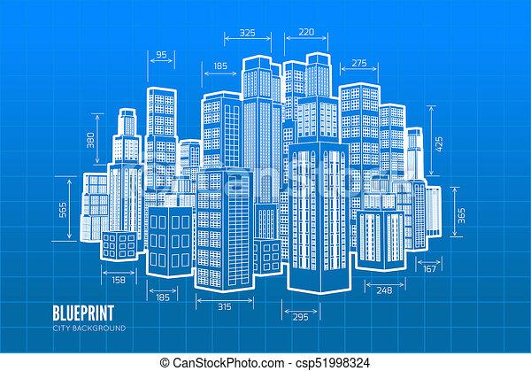 Building wireframe 3d render city blueprint illustration clip art 3d render city csp51998324 malvernweather Choice Image
