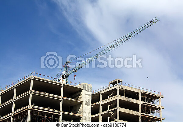 Buildings are built  - csp9180774