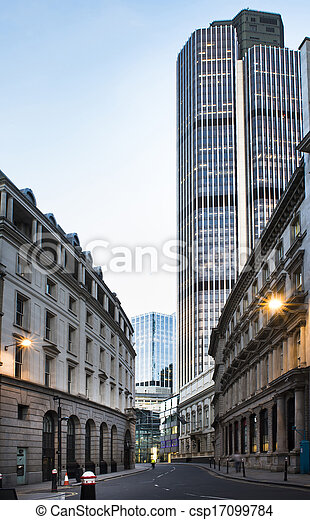 Buildings in city of London - csp17099784