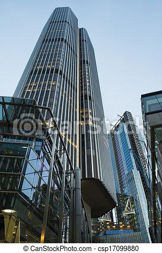 Buildings in city of London - csp17099880