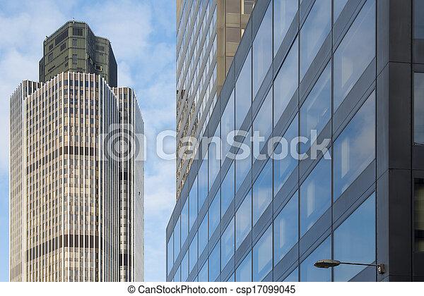 Buildings in city of London - csp17099045