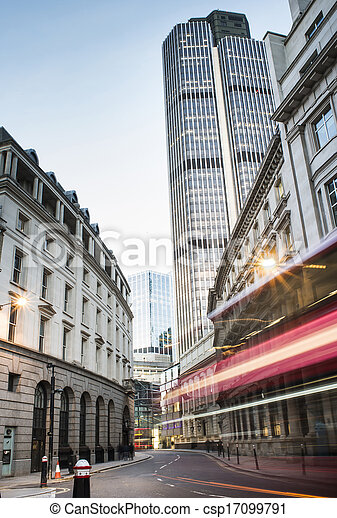 Buildings in city of London - csp17099791