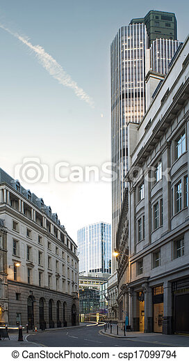 Buildings in city of London - csp17099794