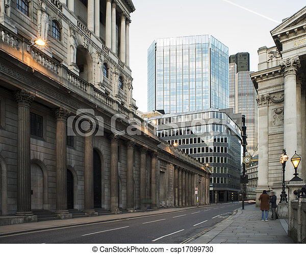 Buildings in city of London - csp17099730