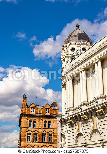 Buildings in the city centre of London - Britain - csp27587875