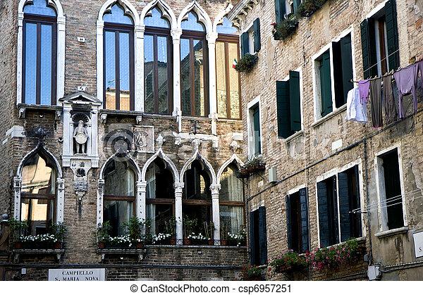 Buildings in Venice - csp6957251