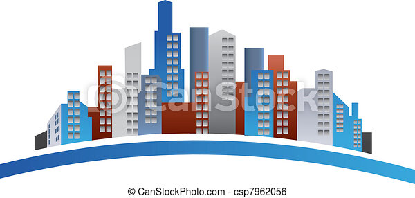 Buildings logo - csp7962056