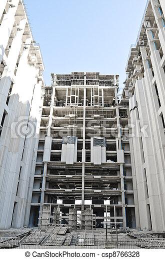 Buildings under construction - csp8766328