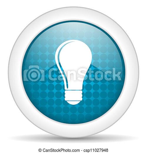 bulb icon - csp11027948