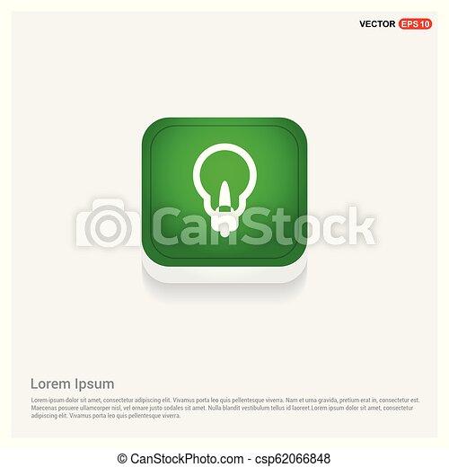 Bulb Icon - csp62066848