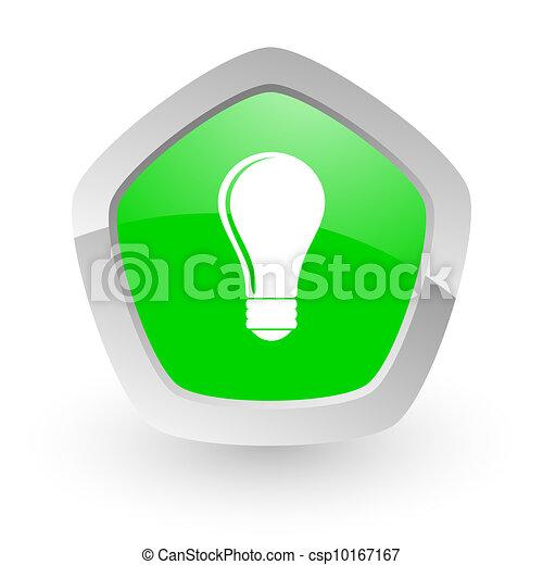 bulb icon - csp10167167