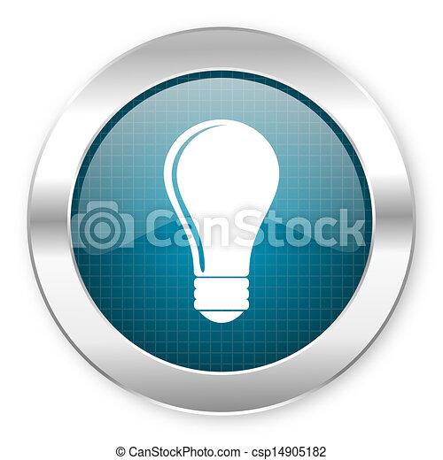 bulb icon - csp14905182