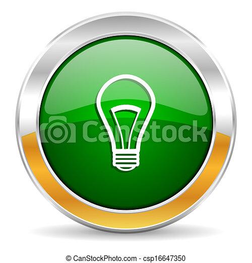 bulb icon - csp16647350