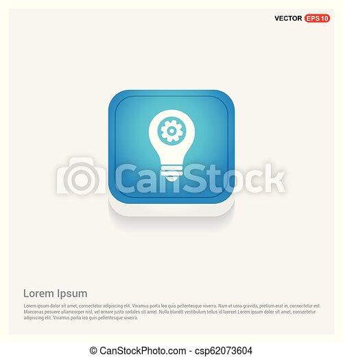 bulb icon - csp62073604