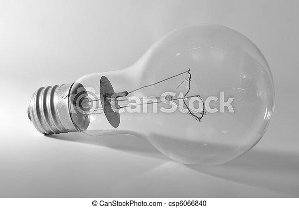 bulbo, luce elettrica - csp6066840