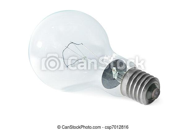 bulbo, luce elettrica - csp7012816