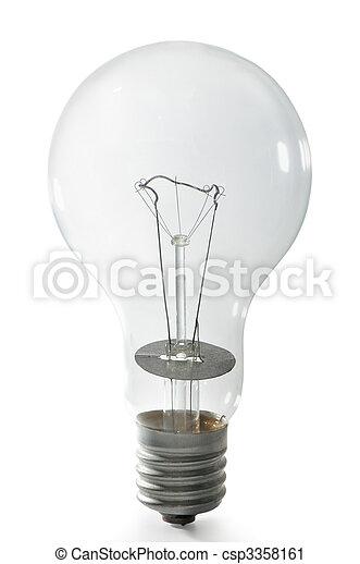 bulbo, luce elettrica - csp3358161
