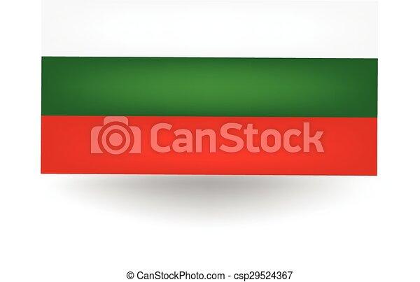 Bulgaria Flag - csp29524367