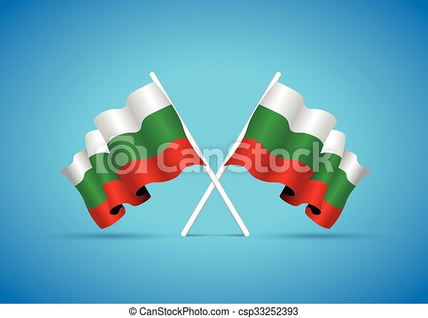 bulgaria flag - csp33252393