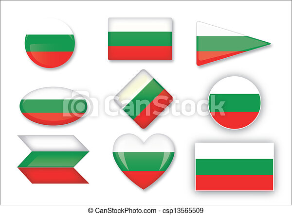 Bulgaria flag set - csp13565509