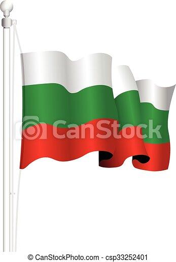 bulgaria flag - csp33252401