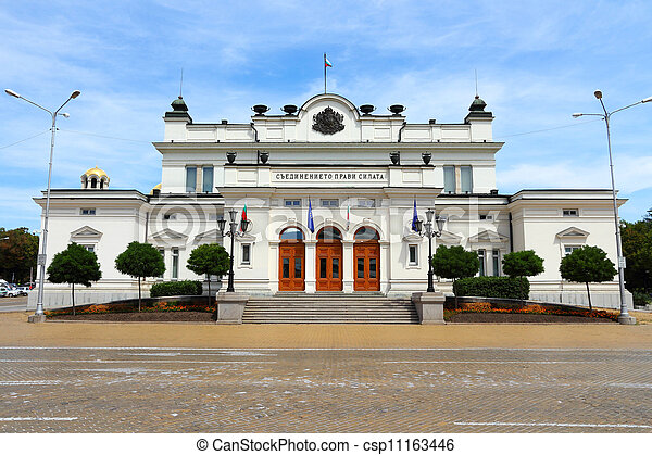 Bulgaria parliament - csp11163446