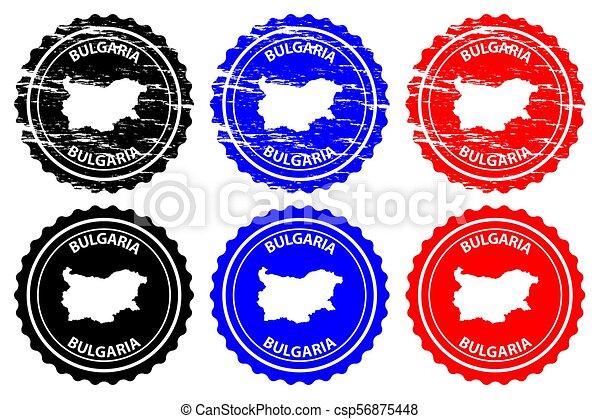 Bulgaria - rubber stamp - csp56875448
