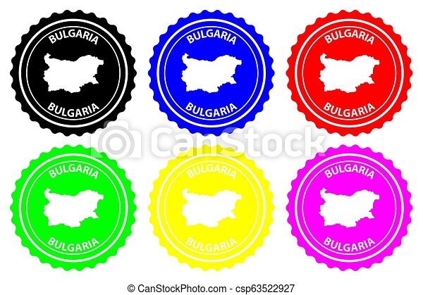 Bulgaria - rubber stamp - csp63522927