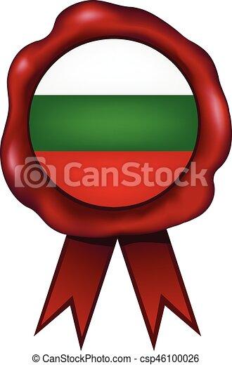 Bulgaria Wax Seal - csp46100026