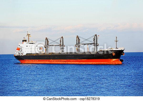 Bulk cargo ship - csp18278319