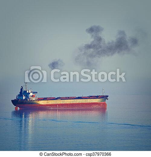 Bulk Carrier Ship - csp37970366