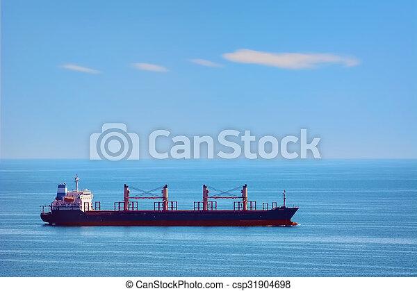 Bulk Carrier Ship - csp31904698