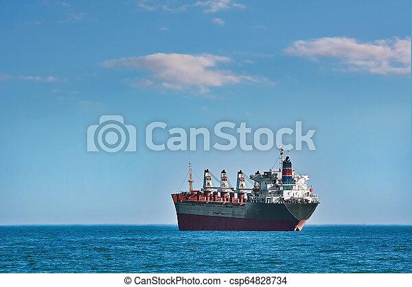 Bulk Carrier Ship - csp64828734