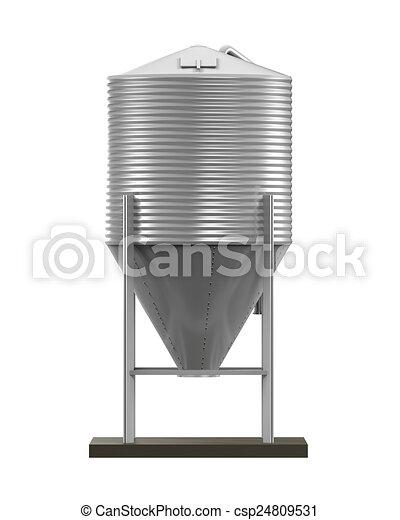 Bulk Feed Silo - csp24809531