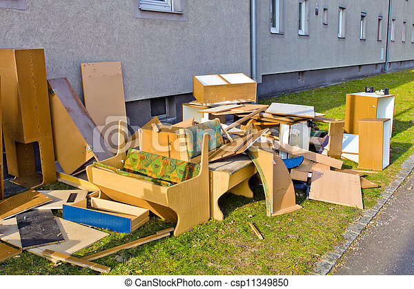 bulky waste - csp11349850