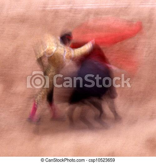 bull fight - csp10523659