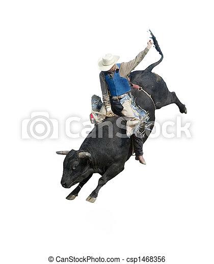 Bull Riding - csp1468356