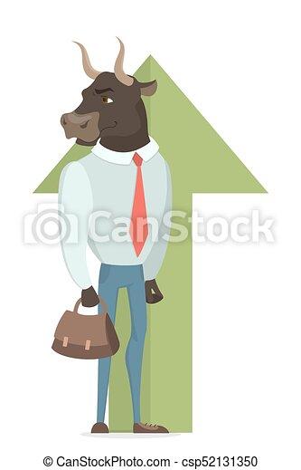Bull stock market. - csp52131350