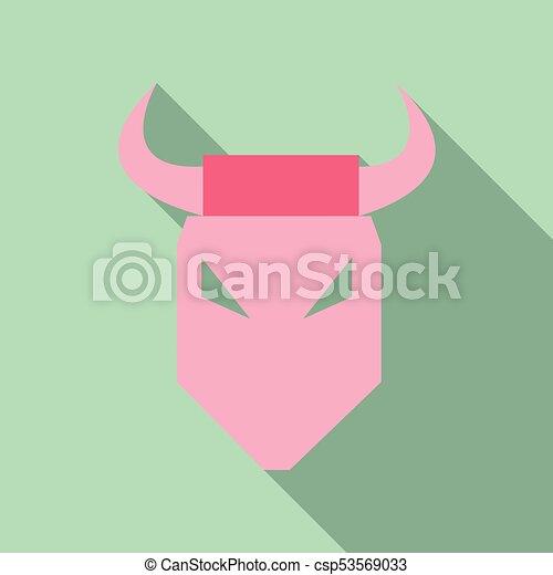 bull vector logo - csp53569033
