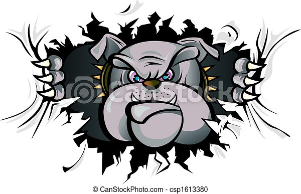 Bulldog attack - csp1613380