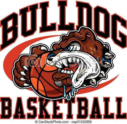bulldog basketball - csp31032958