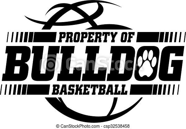 bulldog basketball  - csp32538458