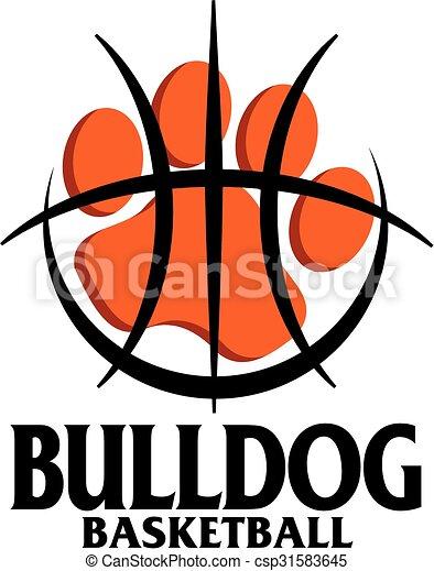 bulldog basketball - csp31583645